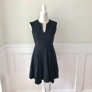 Shoshanna Black Fit & Flare Dress 4